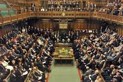 Describe the English House of Commons