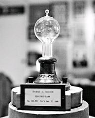 Edison's electric light bulb
